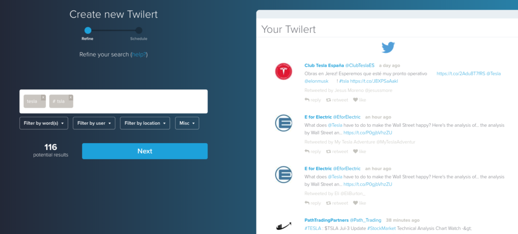 Get Market Signals from Twitter