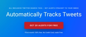 Automatically Track Tweets