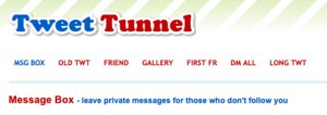 tweet tunnel