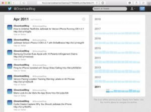 Twitter Archive Download
