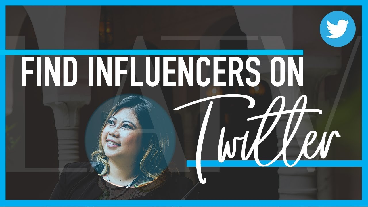 Find Influencers on Twitter