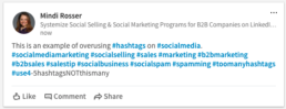 Hashtag Examples